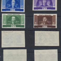 1935 ROMANIA Horea, Closca si Crisan serie Nedantelata nestampilata MNH - Timbre Romania, Istorie