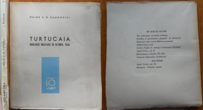 Maior Sandovici , Turtucaia , ideologie militara in ultimul veac , 1938 , ed. 1 foto
