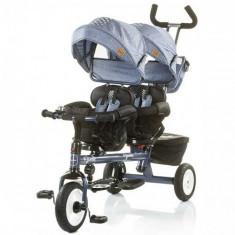 Tricicleta Gemeni Apollo 2018 Blue Indigo - Tricicleta copii Chipolino