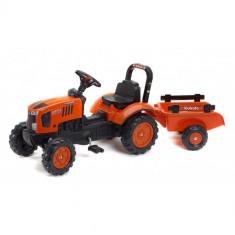 Tractor Kubota AB cu Remorca, Falk