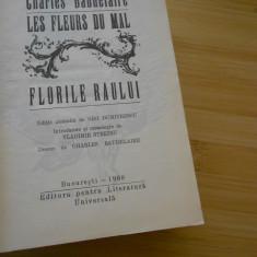 CHARLES BAUDELAIRE--FLORILE RAULUI - 1968 - ED LUX