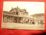 Ilustrata - Gara din Verdun 1920 , Foto Ferry
