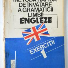 Exercitii - Metoda rapida de invatare a gramaticii limbii engleze - Monica Visan