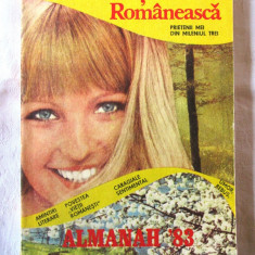 ALMANAH VIATA ROMANEASCA 1983