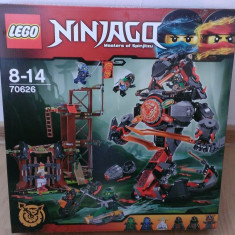 Lego Ninjago 70626 Original - Zorii Destinului de Fier - nou, sigilat in cutie