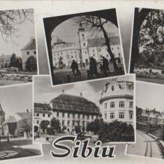 Sibiu 1963 - Mozaic, circulata