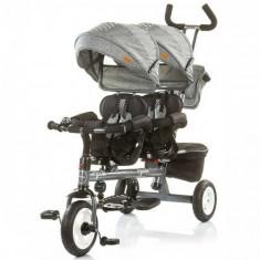 Tricicleta Gemeni Apollo 2018 Ash - Tricicleta copii Chipolino