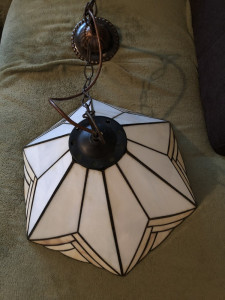 Lampa veche,lustra ,candelabru,,stil Tiffany