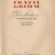 Fratii Grimm - Povesti alese - volumul 1 - ilustratii de Ligia Macovei - Carte Basme