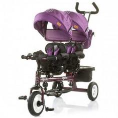 Tricicleta Gemeni Apollo 2018 Very Berry - Tricicleta copii Chipolino