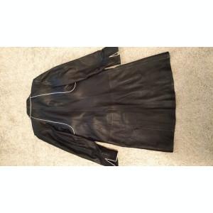 Geaca din piele lunga Femei - palton haina de iarna-toamna femeie dama marime 38