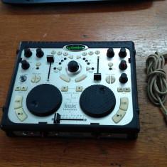 CONSOLA DJ MIXER HERCULES USB