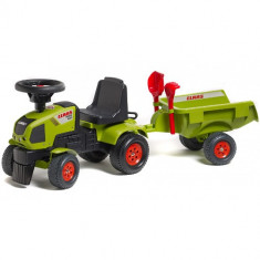 Tractoras Baby Axos cu Remorca, Falk