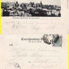 Cernauti, Bucovina - clasica - rara - Carte Postala Bucovina pana la 1904, Circulata, Printata