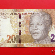 AFRICA DE SUD - 20 Rand ND ( 2013 - 2016 ) - bancnota africa