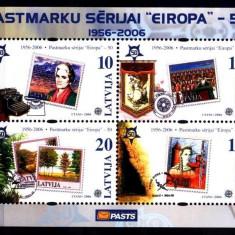 Letonia 2005 - Europa, bloc neuzat