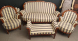 Set canapea si fotolii Biedermeier