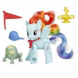 Jucarie My little pony Rainbow Dash Wnning Kick B5676 Hasbro