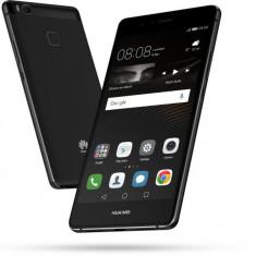 Huawei P9 Lite, Dual Sim, 16GB, 4G, Black, husa spate, garantie - Telefon Huawei, Negru, Neblocat, Octa core