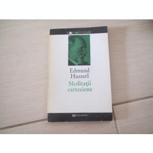 MEDITATII CARTEZIENE EDMUND HUSSERL