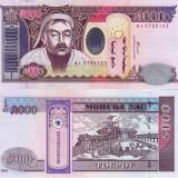 MONGOLIA 5.000 tugrik 2003 UNC!!!