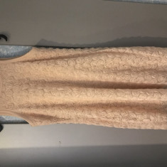 Rochie Zara - Rochie de zi Zara, Marime: S/M, Culoare: Bej