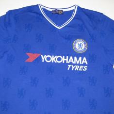 Tricou fotbal - CHELSEA LONDRA (Anglia) - Tricou echipa fotbal, Marime: L, Culoare: Albastru, De club, Maneca scurta