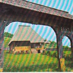 bnk cp Muzeul de arhitectura populara Valcea - Casa taranesca - necirculata