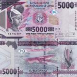 GUINEEA 5.000 francs  2015 UNC!!!