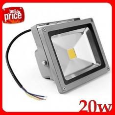 Proiector 20W Senzori Miscare Lumina alb rece Exterior
