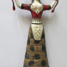 Bibelou-ZEITA PAGANA-ceramica, pictata, vintage - Arta locala