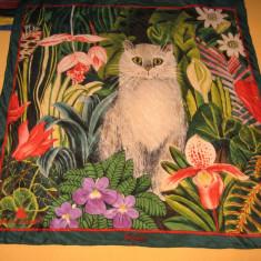 Esarfa matase naturala Gisela Buowberger by Beyeler - Esarfa, Sal Dama, Culoare: Multicolor, Marime: Marime universala