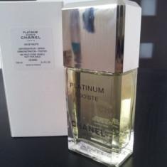Parfum Original Chanel Egoiste Platinum EDT (100 ml) barbati Tester - Parfum barbati Chanel, Apa de toaleta
