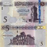 LIBIA 5 dinars ND (2015) UNC!!!