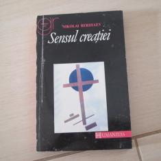 SENSUL CREATIEI NIKOLAI BERDIAEV - Carti Crestinism