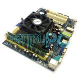 Ieftin! Kit Placa de baza ASRock +AMD Athlon II X2 245 2.9GHz +4GB RAM +GARANTIE, Pentru AMD, AM2+, DDR 3