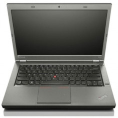 Laptop Lenovo ThinkPad T440p, Intel Core i5 Gen 4 4300M 2.6 GHz, 4 GB DDR3, 500 GB HDD SATA, WI-FI, Bluetooth, Webcam, Display 14inch 1600 by 900