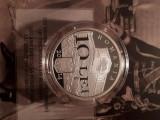 10 LEI 2014 PROOF - 150 ANI DE LA INFIINTAREA SENATULUI ROMANIEI, Argint