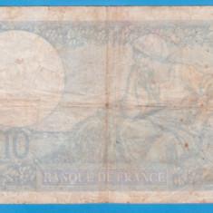 (1) BANCNOTA FRANTA - 10 FRANCS 1939 (19 OCTOMBRIE 1939)