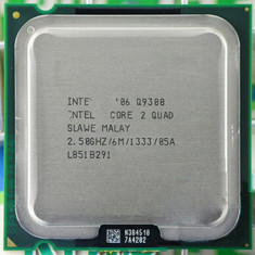 Procesor socket 775 Intel Core 2 Quad Q9300 2.5Ghz 6mb cache fsb 1333mhz - Procesor PC Intel, Numar nuclee: 4, 2.5-3.0 GHz, LGA775