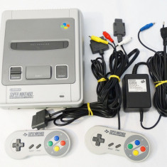 Consola Super Nintendo SNES + accesorii originale - Consola Nintendo