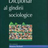 Dictionar al gandirii sociologice - R. Boudon