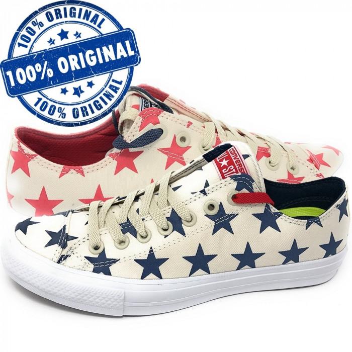 Pantofi sport Converse Chuck Taylor All Star II Ox pentru barbati - tenisi panza