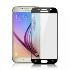 Folie protectie sticla securizata 4D ecran Samsung Galaxy A3 (2017) BLACK