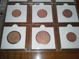 Colectie 12 monede mai vechi anii 1700-1800, Europa