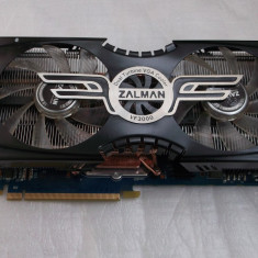 Placa video Nvidia GeForce GTX 275 896MB DDR3 448-bit cooler Zalman - Placa video PC NVIDIA, PCI Express, 1 GB