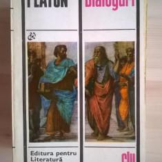 Platon - Dialoguri {ELU} - Carte Filosofie