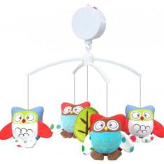 Carusel Muzical Owls - Carusel patut Baby Mix