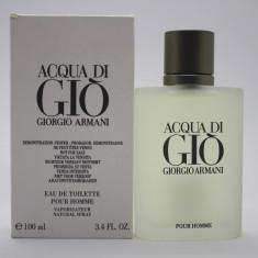 Parfum Original Giorgio Armani Acqua di Gio Pour Homme (100ml) - Barbati Tester - Parfum barbati Armani, Apa de toaleta, Acvatic