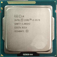 Procesor socket 1155 Intel Ivy Bridge, Core i5 3570 3.4GHz+cooler - Procesor PC Intel, Intel Core i5, Numar nuclee: 4, Peste 3.0 GHz
